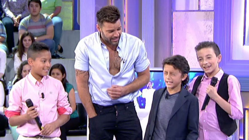 'El Balilla' canta para Ricky Martin