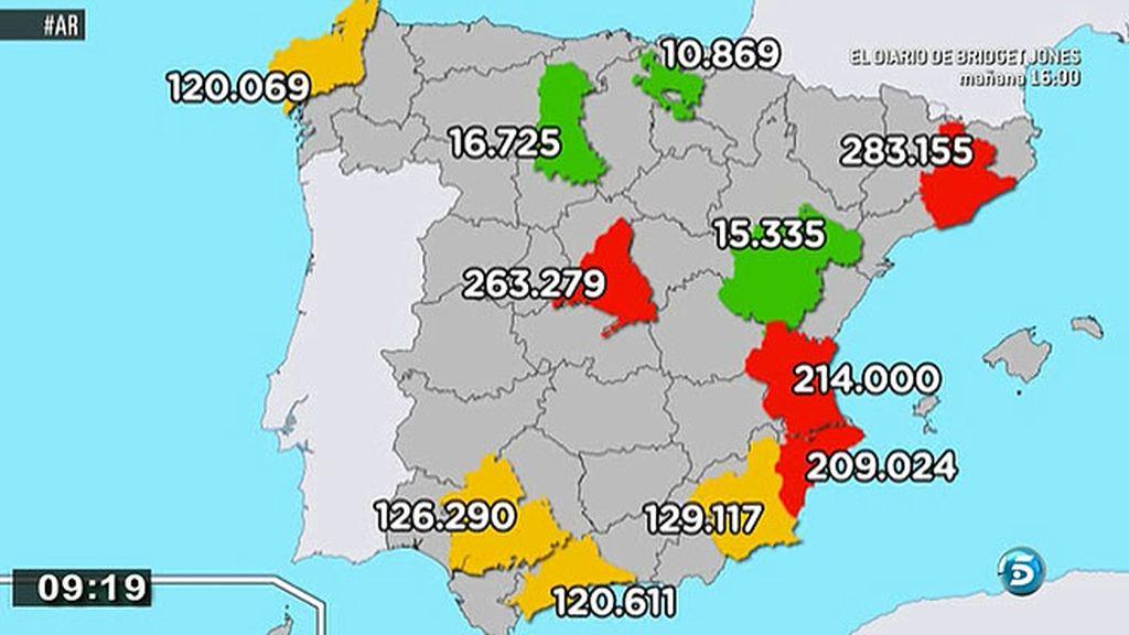 ¿Cuantas viviendas vacías hay en España?