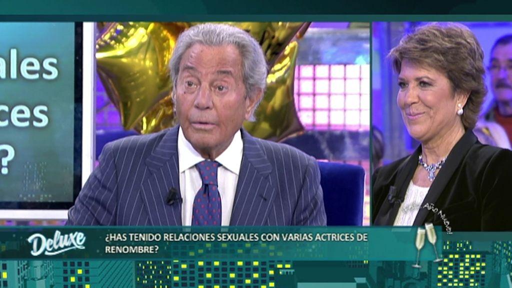 Arturo Fernández ha mantenido relaciones sexuales con actrices de renombre