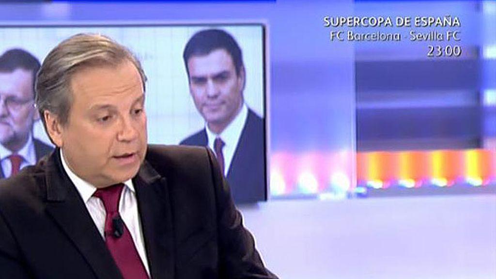 """Carmona: """"Quien caza langostinos  para tener o no investidura es Rajoy"""""""