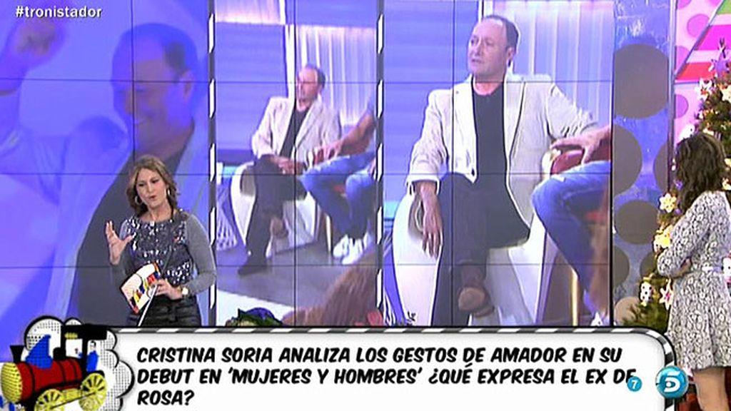 "C. Soria: ""Amador se cree su propia mentira"""