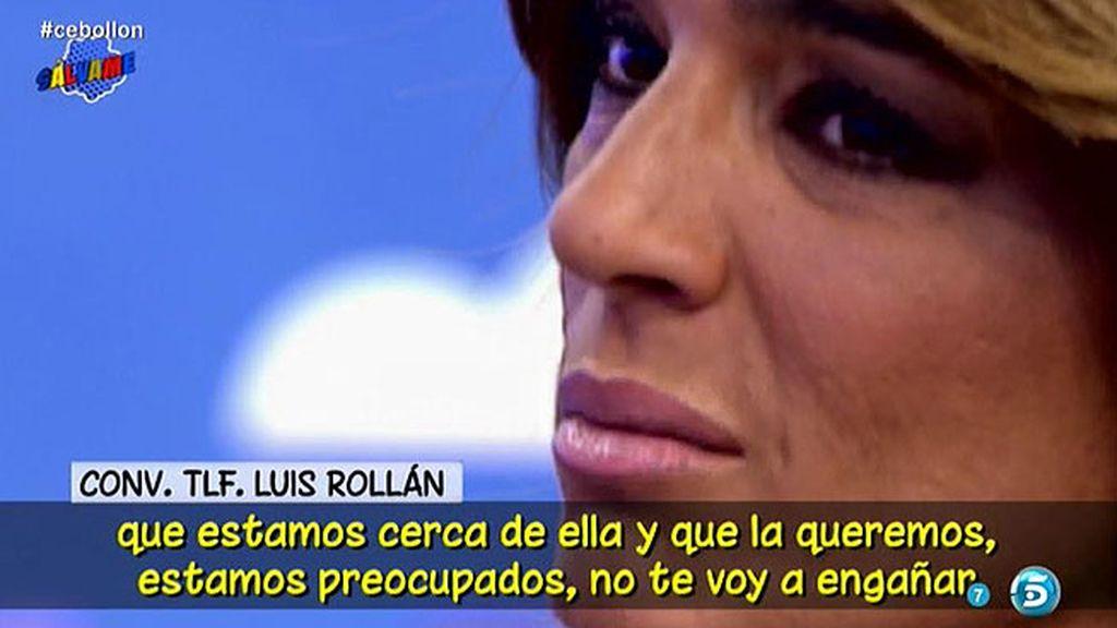 """Luis Rollán: """"Los que queremos a Raquel Bollo, estamos muy preocupados por ella"""""""