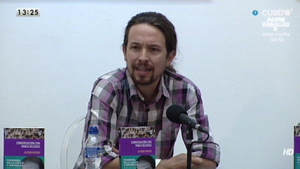 """Pablo Iglesias: """"Asegurar que la libertad de prensa es incuestionable es una exigencia de los periodistas"""""""
