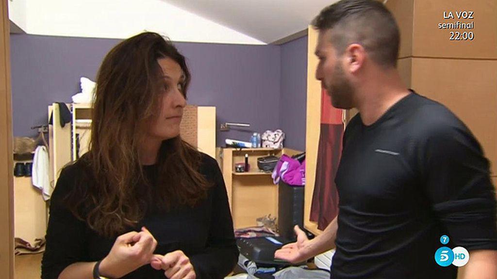 """Laura, a Jordi: """"Se acaba aquí la conversación o lo casco todo"""""""