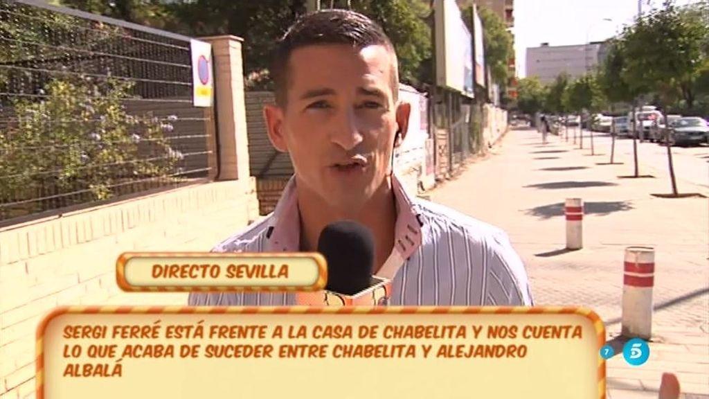 Chabelita vive en un piso de 700 euros al mes y 100 de comunidad, según Sergi Ferrer