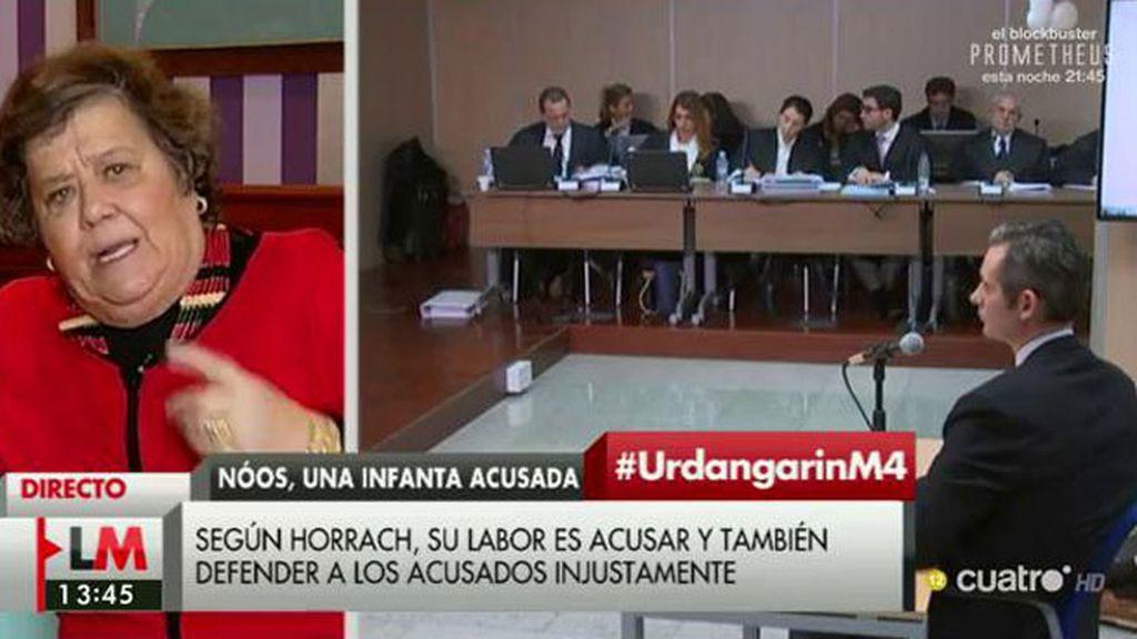 """Almeida: """"Si Urdangarín se está haciendo de desmemoriado, ella va a hacer de tonta"""""""