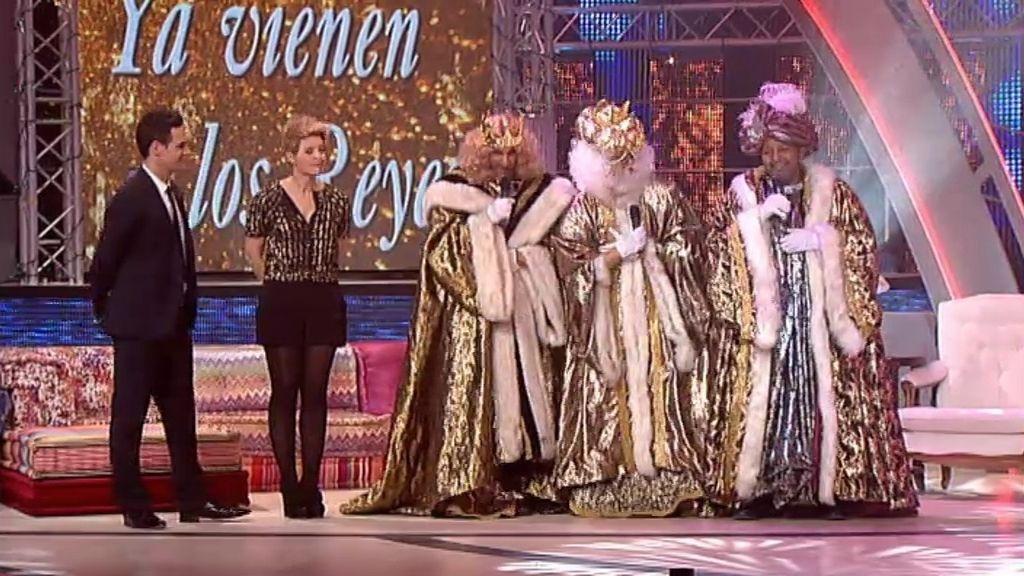 Los Reyes Magos llegan a Telecinco