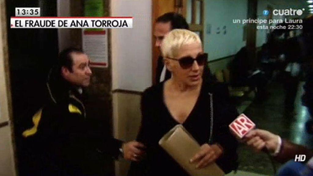 Ana Torroja tendrá que pagar 1,5 millones