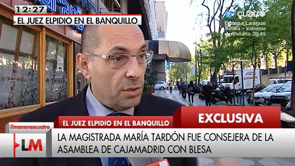 "Elpidio Silva: ""La imagen del Tribunal queda definitivamente rota"""