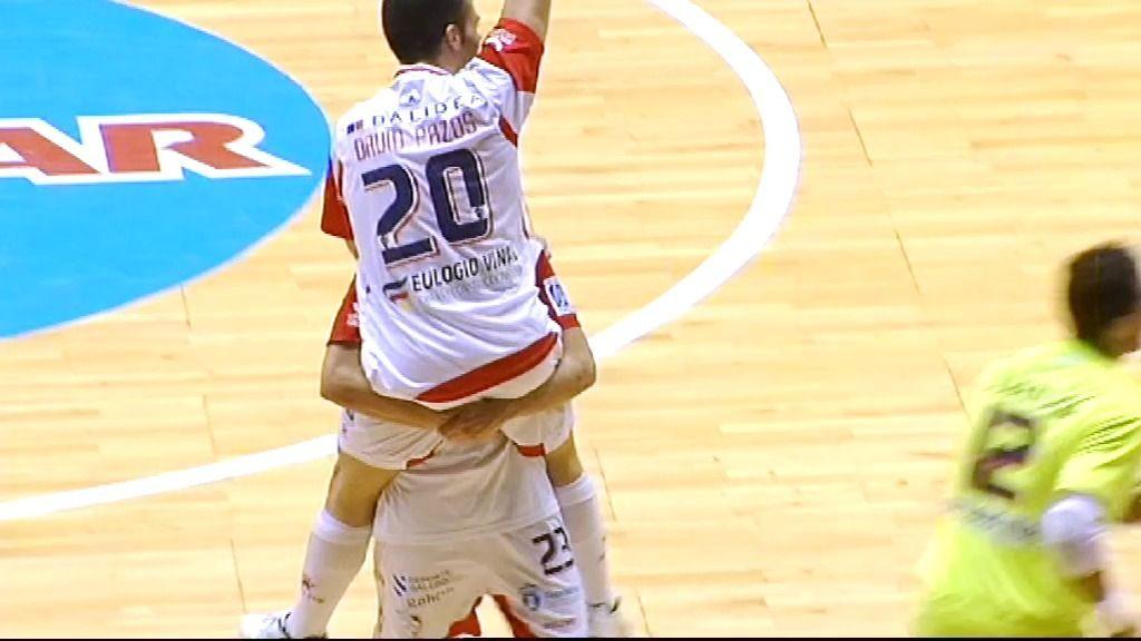 ElPozo vence al Santiago Futsal y es subcampeón de la liga regular (5-7)