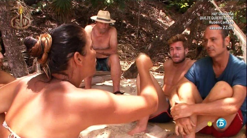 "Katia Aveiro discute con Nacho Montes por Tony: ""Es un mentiroso"""