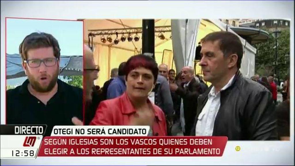 """Miguel Urbán: """"Otegi debería poder presentarse a las elecciones"""""""