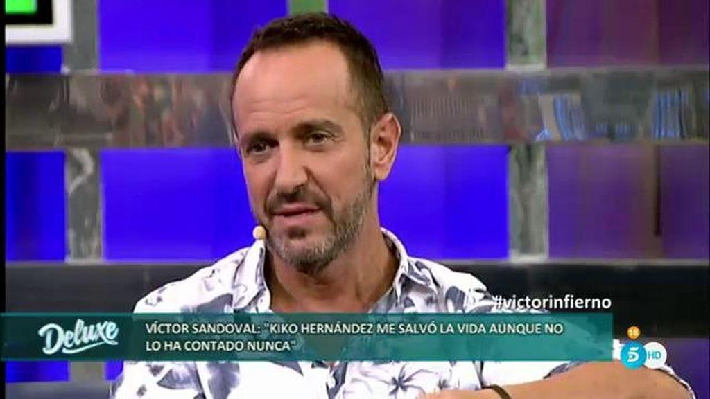 """Víctor: """"Kiko Hernández me llamaba todas las noches para preguntar 'qué tal estas"""""""