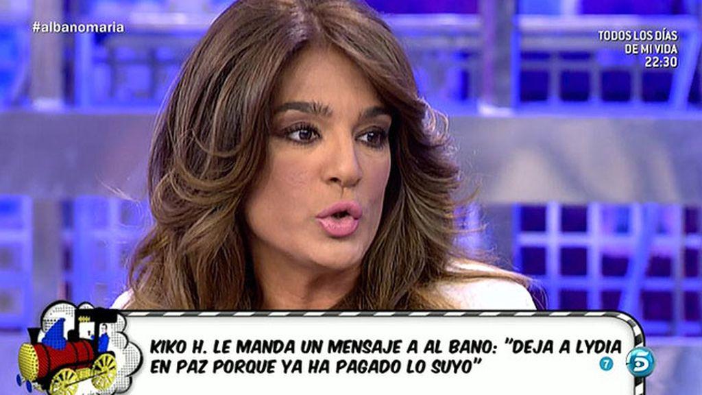 Chabelita no quiere saber nada de Alberto Isla, según Raquel Bollo