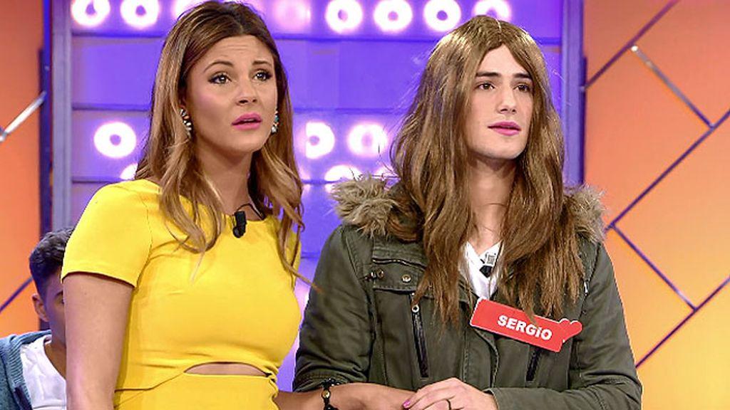 Sergio, la hermana gemela de Alba