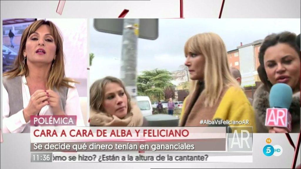 """Alba: """"No estoy enamorada de Feliciano. Me siento humillada"""""""