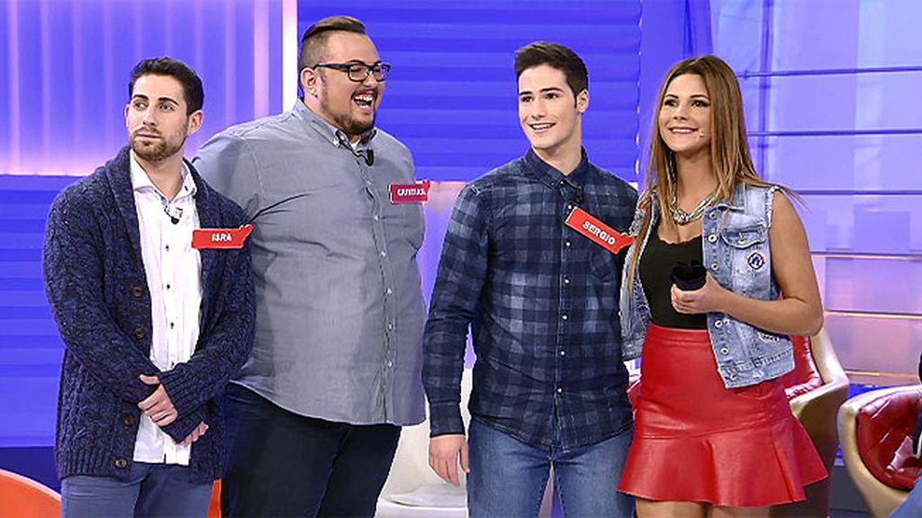 No hay dos sin tres: Cristian, Isra y Sergio quiere conquistar a Alba