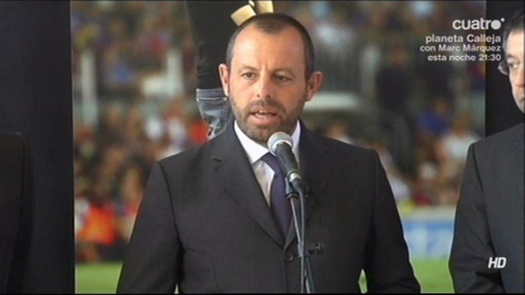 """Rosell: """"La tristeza del barcelonismo demuestra quién era Tito Vilanova"""""""