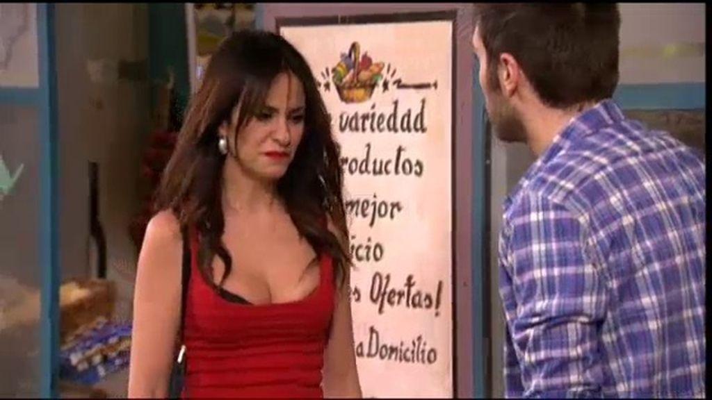 Paz, desolada tras conocer que Luisma no va a dejar a Ainhoa