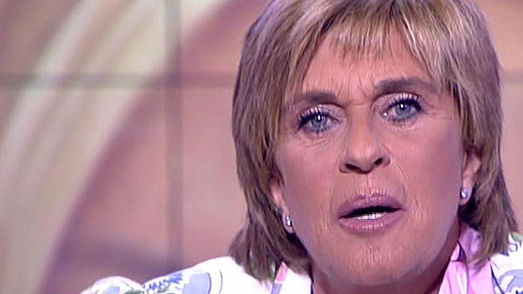 """Chelo Gª Cortés, a Bárbara Rey: """"No necesité  contar mi historia de amor contigo porque quien lo contó públicamente fuiste tú"""""""