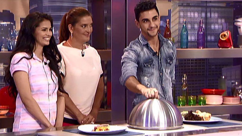 Sara Sálamo y César Mateo se decantan por el plato de Ana y Aarón