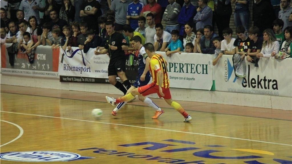 El Barça vence al Ríos y ambos conjuntos conservan sus plazas en la tabla (0-3)