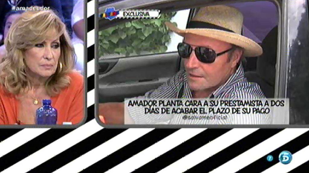"""José Antonio León: """"Amador está asustado"""""""
