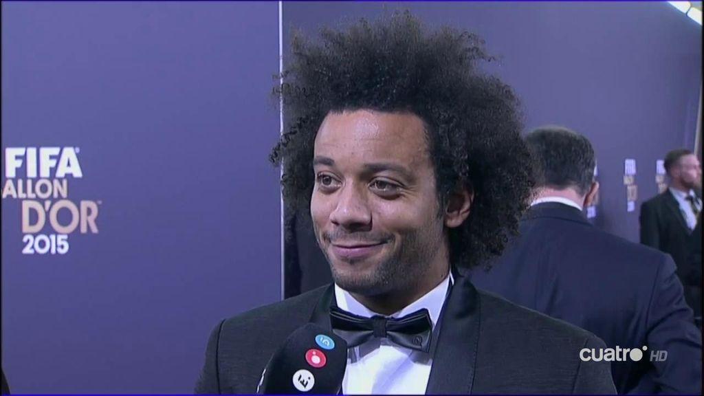 """Marcelo, de Zidane: """"Puede que estemos mejor, pero no dije que estuvieramos mal"""""""