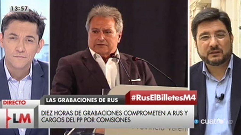 """Ignacio Blanco: """"Hay grabaciones que prueban una trama organizada de corrupción que afecta a dirigentes del PP"""""""