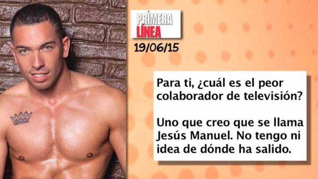 Alberto Isla presume de cuerpazo y de ojos en la revista 'Primera Línea'