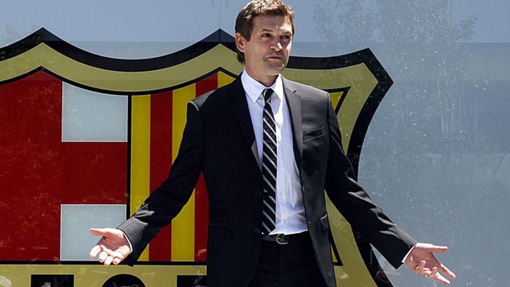 Tito Vilanova cumplió su sueño de entrenar al primer equipo del Barcelona