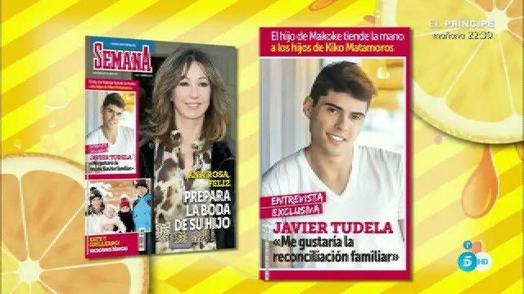 Javier Tudela confiesa en 'Semana' que le gustaría una reconciliación familiar