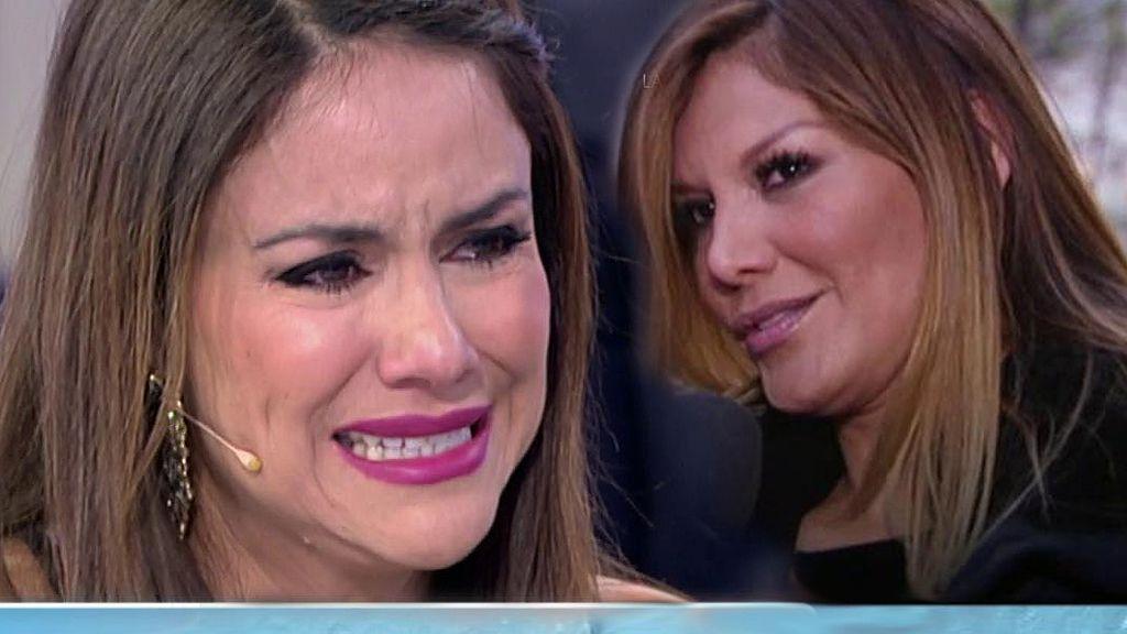 Mónica Hoyos rompe a llorar con el duro mensaje de Ivonne Reyes