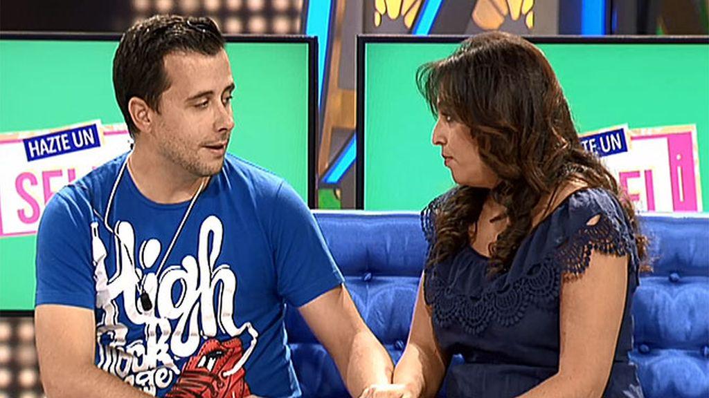 """Pedida de mano en 'Hazte un selfi': Miriam, a Andrés: """"¿Quieres casarte conmigo?"""""""