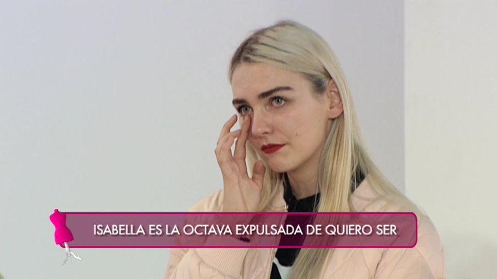 """Isabella es la octava expulsada de 'Quiero Ser': """"Lo sentimos mucho"""""""