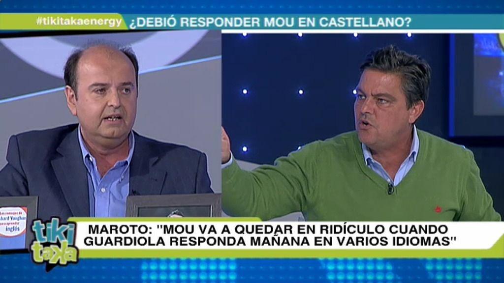 """Joaquín Maroto, a Juanma Rodríguez: """"Eres el lacayo del maleducado de Mourinho"""""""