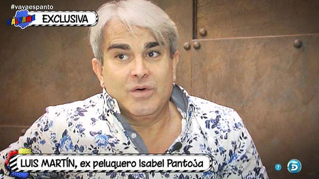 """Luis Martín: """"Isabel Pantoja tiene fuerza en el escenario, pero en su vida real es débil"""""""