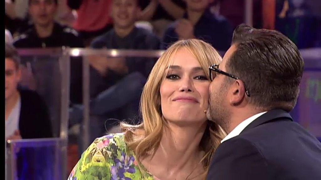 Jorge Javier y Patricia Conde, cara a cara