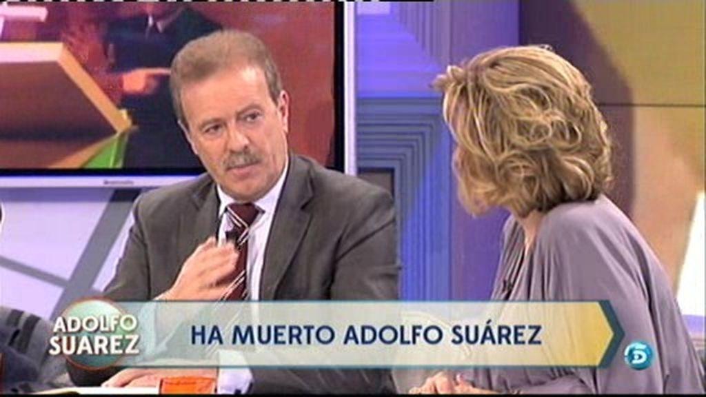 """Campo Vidal: """"Suárez siempre representó dignidad en la presidencia del Gobierno"""""""