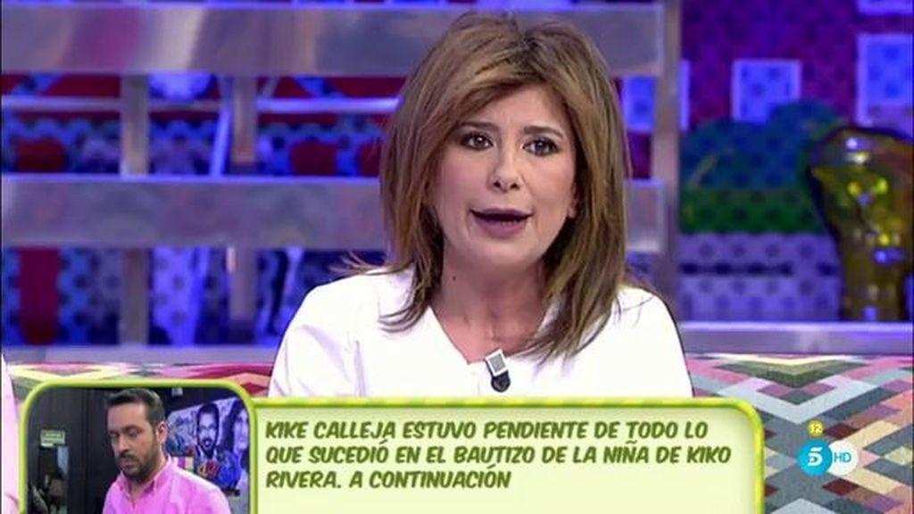 Los Pantoja no han visto con buenos ojos el tercer grado de J. Muñoz, según G. López