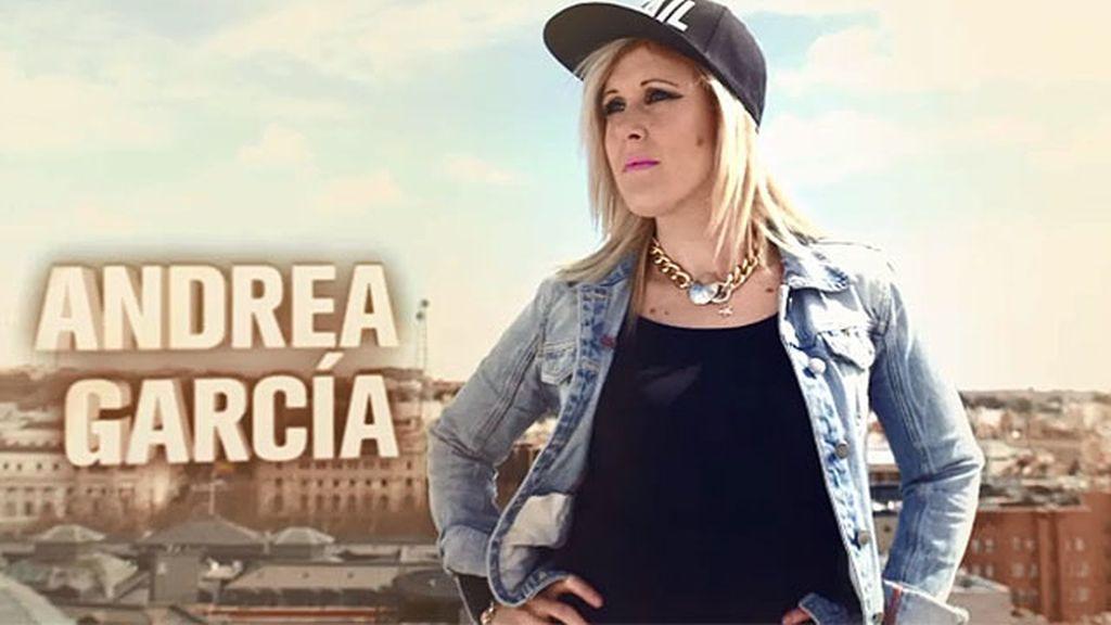 """Andrea García: """"Yo sudo purpurina"""""""