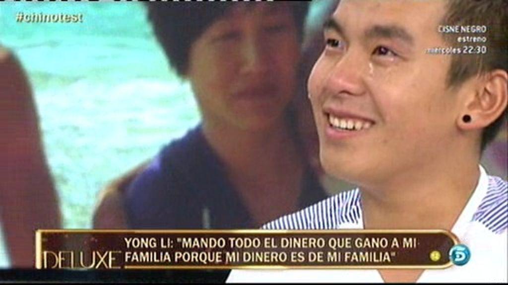 """Yong Li, entre lágrimas: """"He hecho llorar muchas veces a mi madre, fui muy malo"""""""