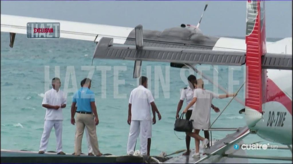 Aterrizaje en hidroavión y 'paquirriners', todo sobre la llegada de Kiko a las Maldivas