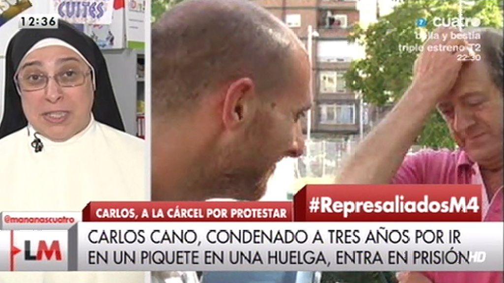 """Sor Lucía Caram: """"Creo que estamos en un nuevo franquismo"""""""