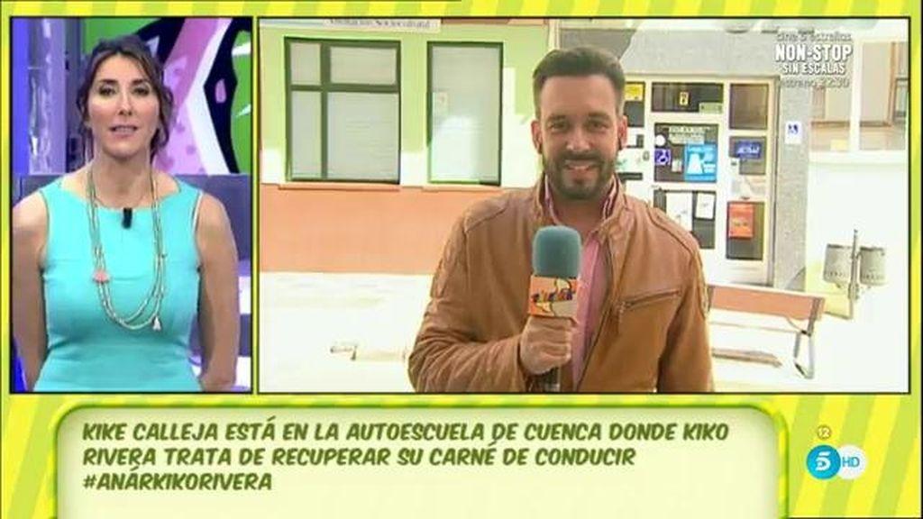 "Kike Calleja: ""Kiko Rivera está en el punto de mira de tráfico"""