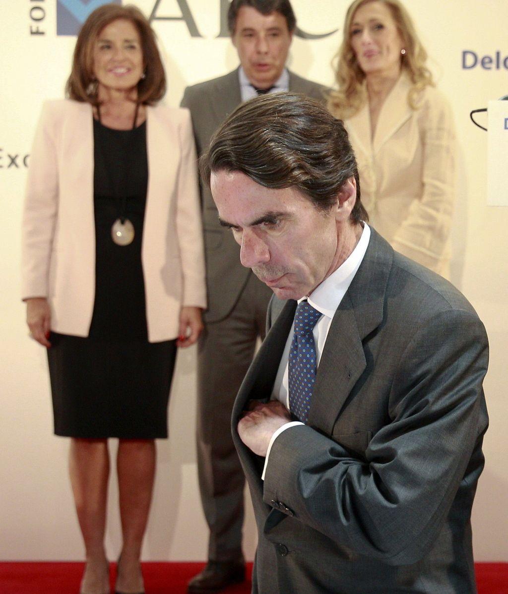 Aznar lamenta que no le hayan invitado a la campaña de las europeas