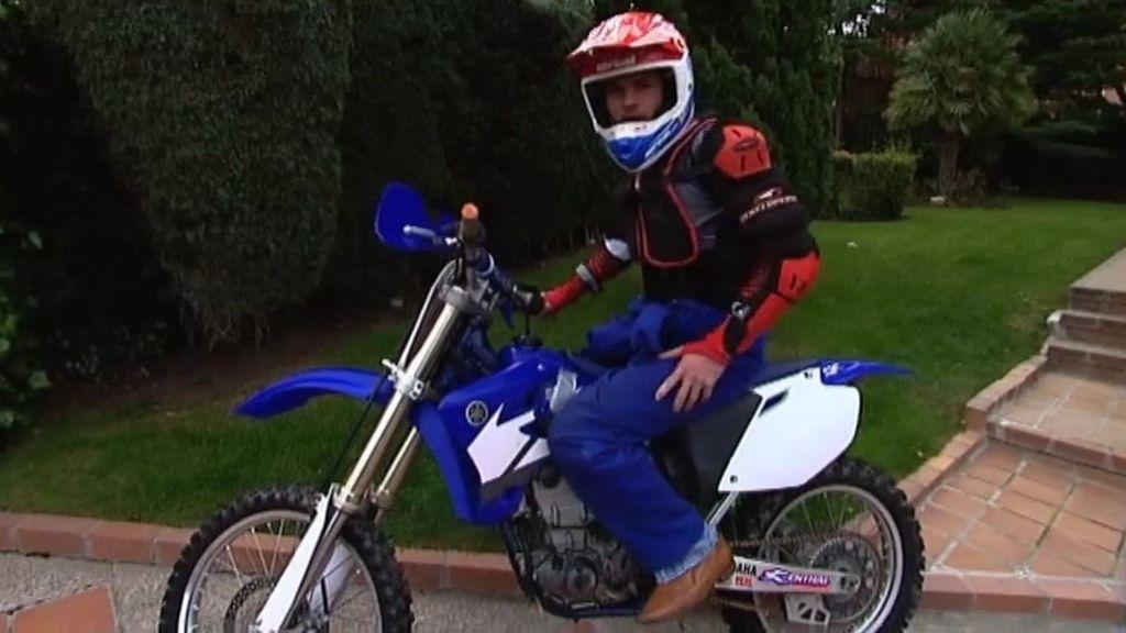 Fabio nos vende la moto