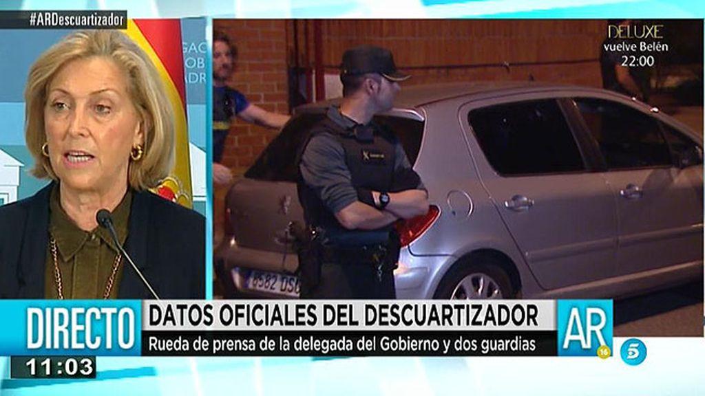 """Concepción Dancausa: """"Los restos de sangre pertenecen a la desaparecida"""""""