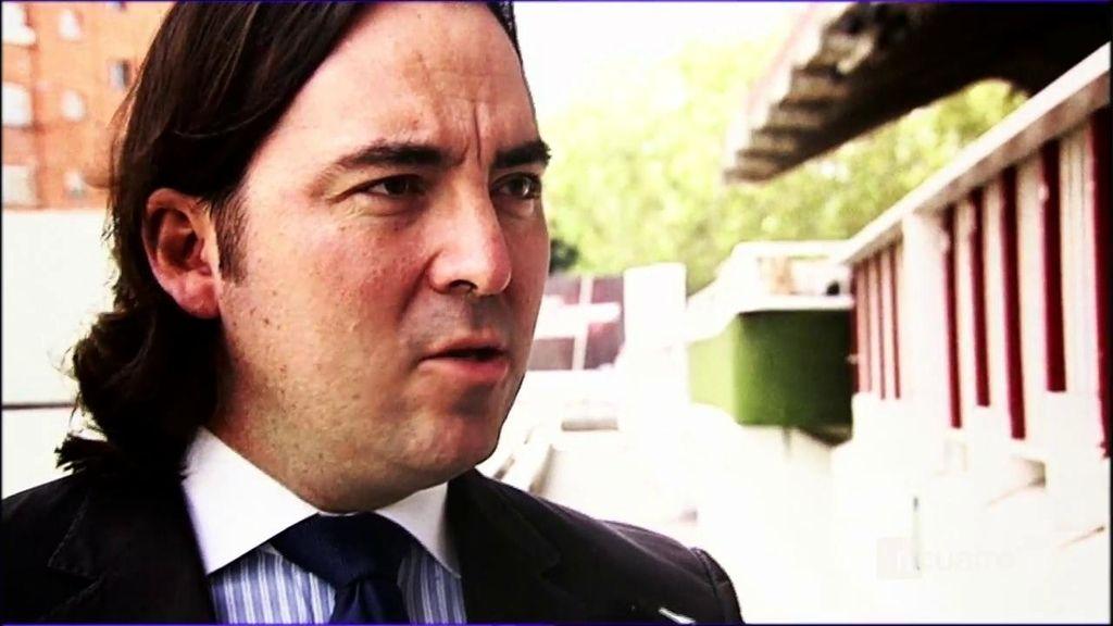 Martín Presa, presidente del Rayo Vallecano, no confía en la honradez del fútbol español