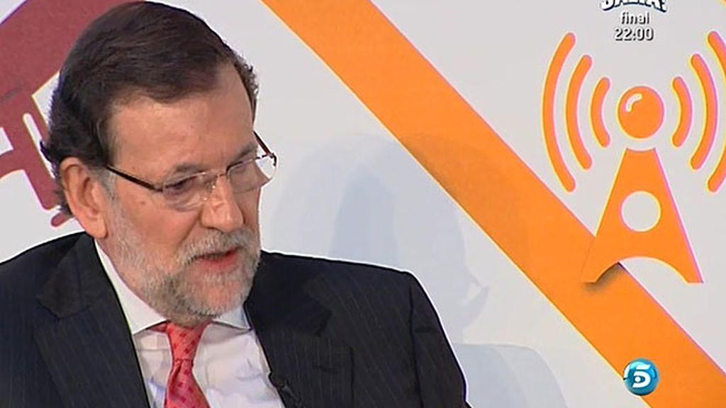 """Rajoy: """"Quien quiera cambiar las reglas del juego puede hacerlo con los instrumentos establecidos en la legislación"""""""